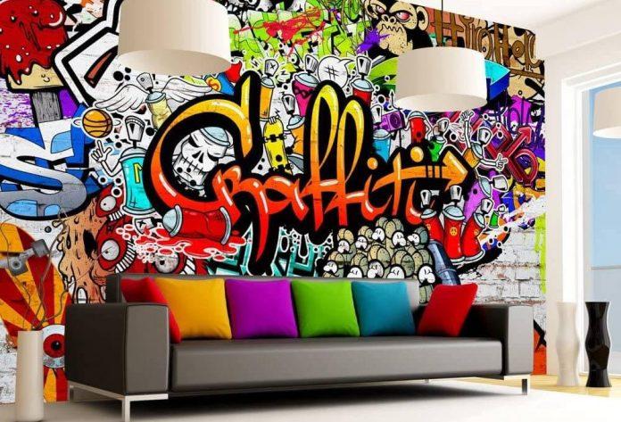 decoration murale insolite
